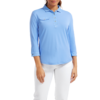 FootJoy Women's 3/4 Sleeve Pique with printed Trim