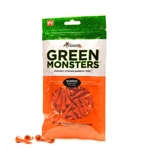 Frogger Green Monsters Nubbies 1 1/8 Bamboo Tees