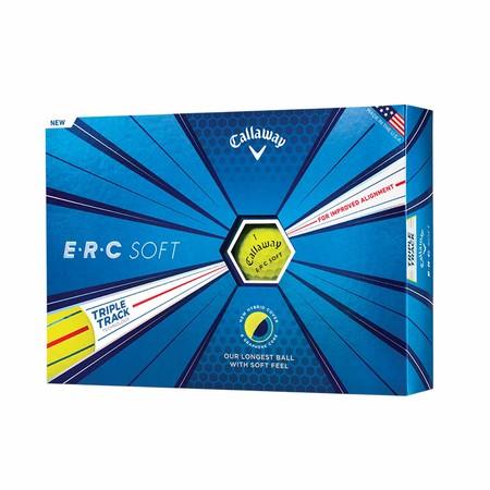 Callaway ERC Soft Yellow Golf Balls