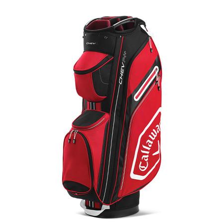Callaway Chev 14+ Cart Bag Cardinal/Black