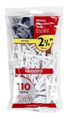 """Wood Tees Bumpa Bag 110 White 2 3/4"""""""