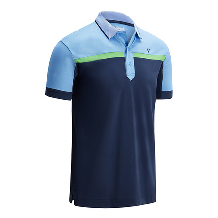 Callaway Birdseye Colour Block Polo