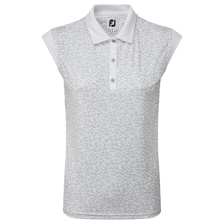 FootJoy Women's Cap Sleeve Print Interlock