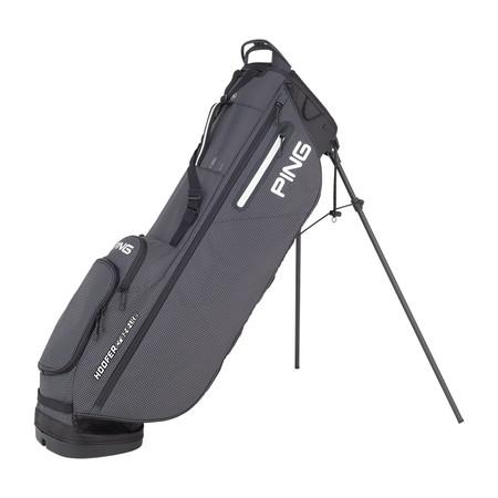Ping Hoofer Craz-E Lite Stand Bag Black White