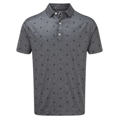 FootJoy Smooth Pique FJ Tonal Print