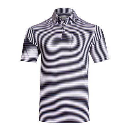 Kjus Men Lee Stripe Polo S/S