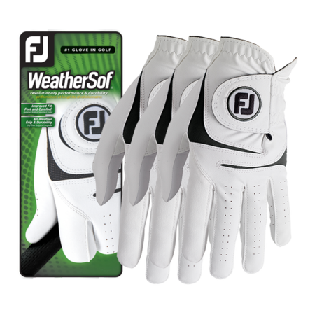 FootJoy WeatherSof 3-Pack