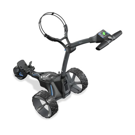 Motocaddy M5 GPS DHC Electric Trolley Graphite + 36 Holes Battery