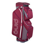 Ping Traverse Cart Bag Garnet Heather Grey